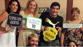 Diego Maradona, desubicado