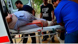 Jorge pesa casi 300 kilos y tuvo que ser internado en San Juan