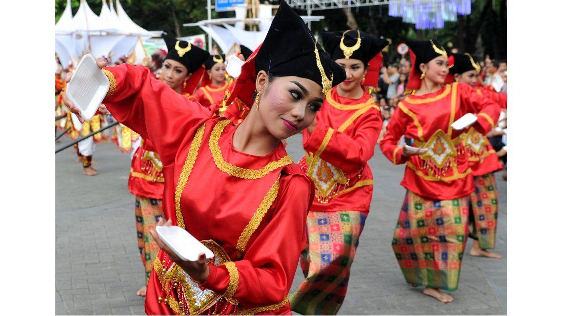 Así se prepara Indonesia para recibir el año nuevo