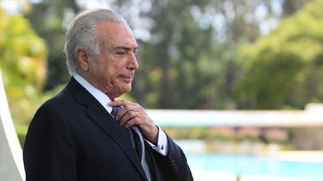 Hackean la página del presidente brasileño