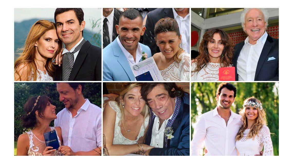 Los casamientos de los famosos de 2016