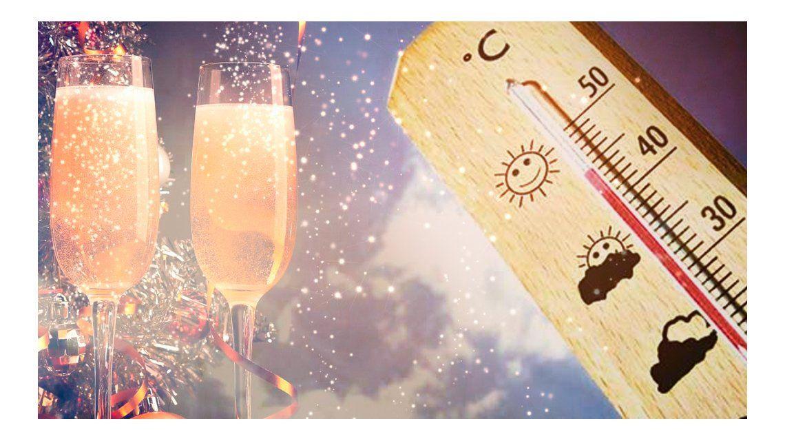 Calor y probables precipitaciones para Fin de Año