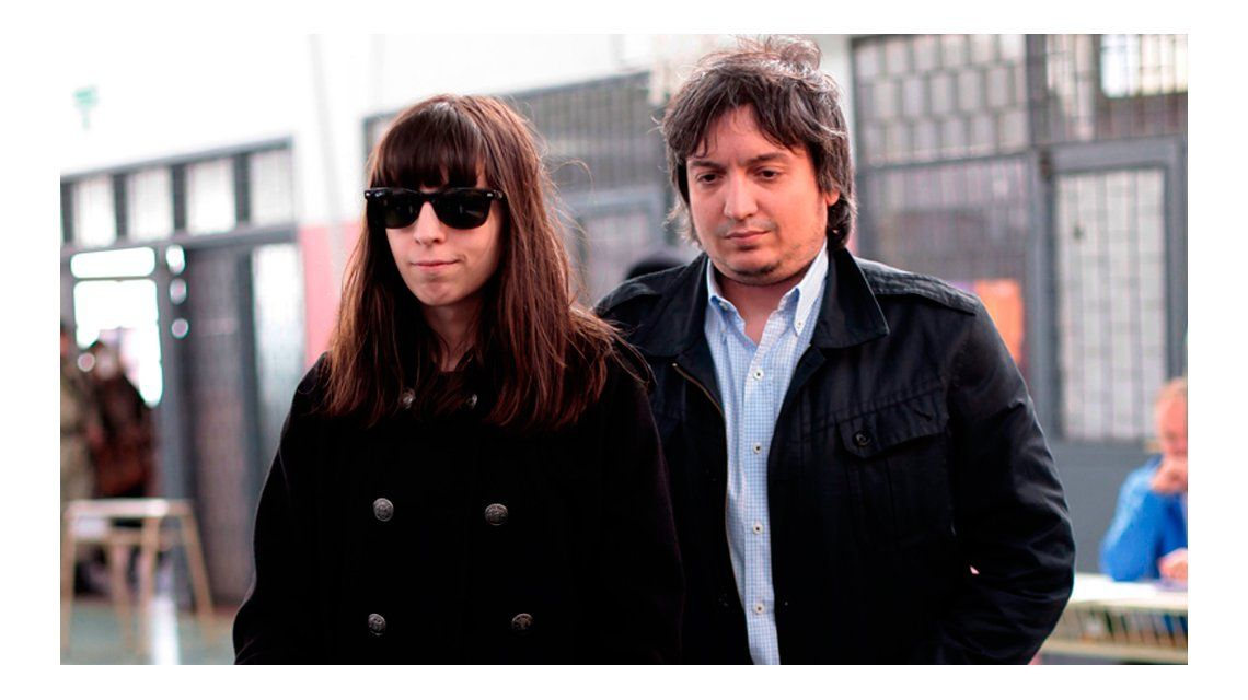 Florencia y Máximo Kirchner