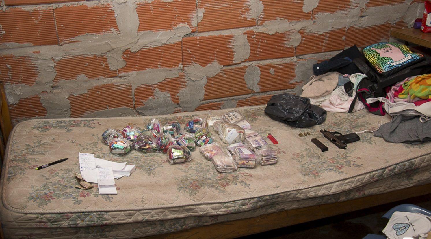 Allanamiento en Villa Sapito