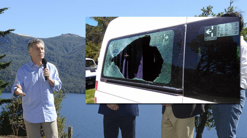 ATE Neuquén denuncia que el ataque a la camioneta de Macri fue un show montado