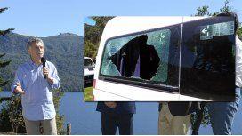 Hay siete demorados por el ataque al auto de Macri