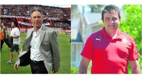Ariel Holan y Claudio Vivas