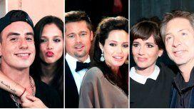 Fede Bal, Angelina y Brad Pitt y Suar fueron algunos de los famosos separados en 2016