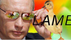 La gente de Putin se lo tomó con humor