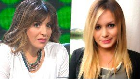 Gianinna Maradona y Karina la Princesita se cruzaron en Twitter