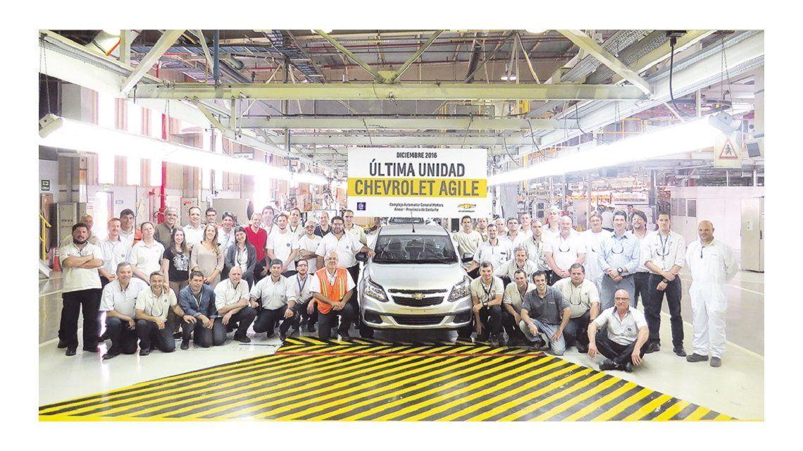 General Motors anunció el fin de la producción del Chevrolet Agile en el país