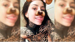 Candelaria Tinelli agradeció los memes de su tattoo