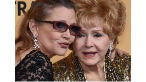 Carrie Fisher yDebbie Reynolds, hija y madre, murieron con horas de diferencia