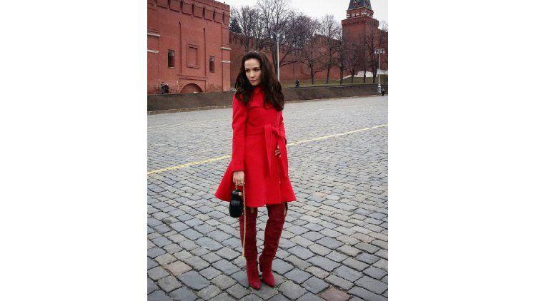 Natalia Oreiro en Rusia