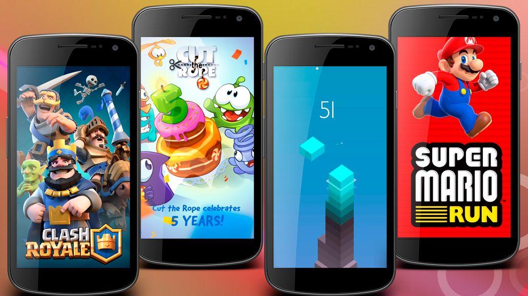 Los mejores juegos para celulares