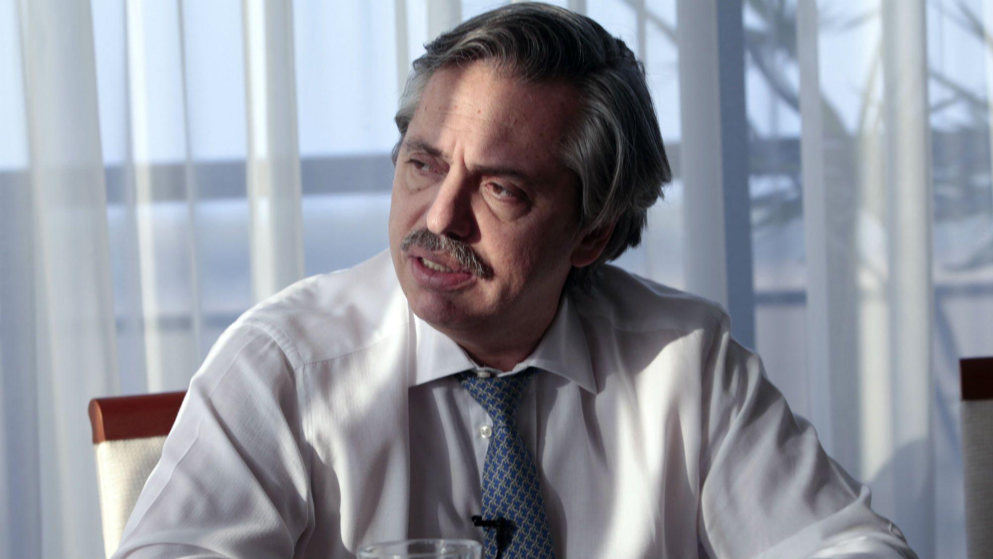 Alberto Fernández opinó sobre el acuerdo entre el Estado y el Correo Argentino