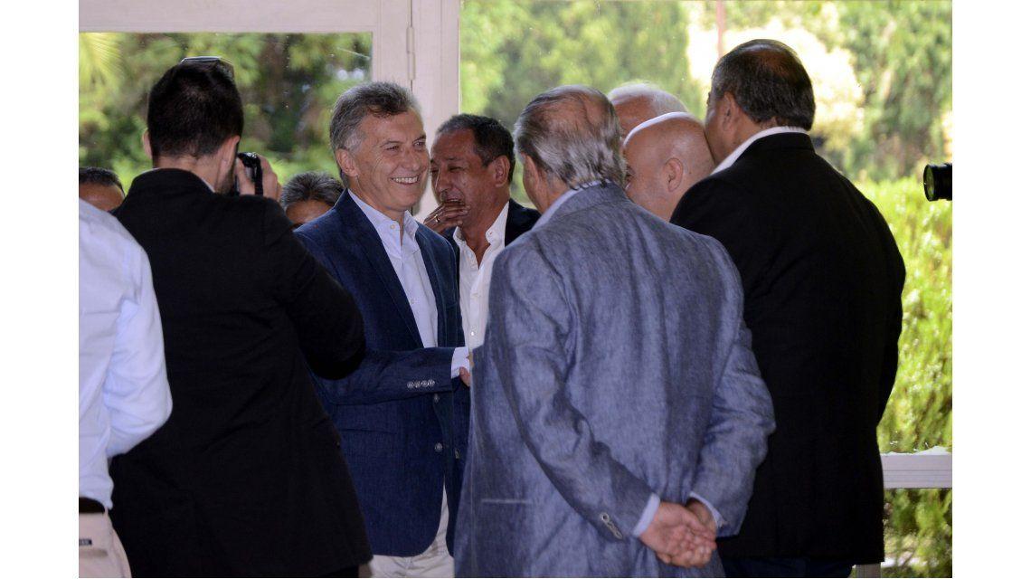 Macri recibió a la cúpula de la CGT