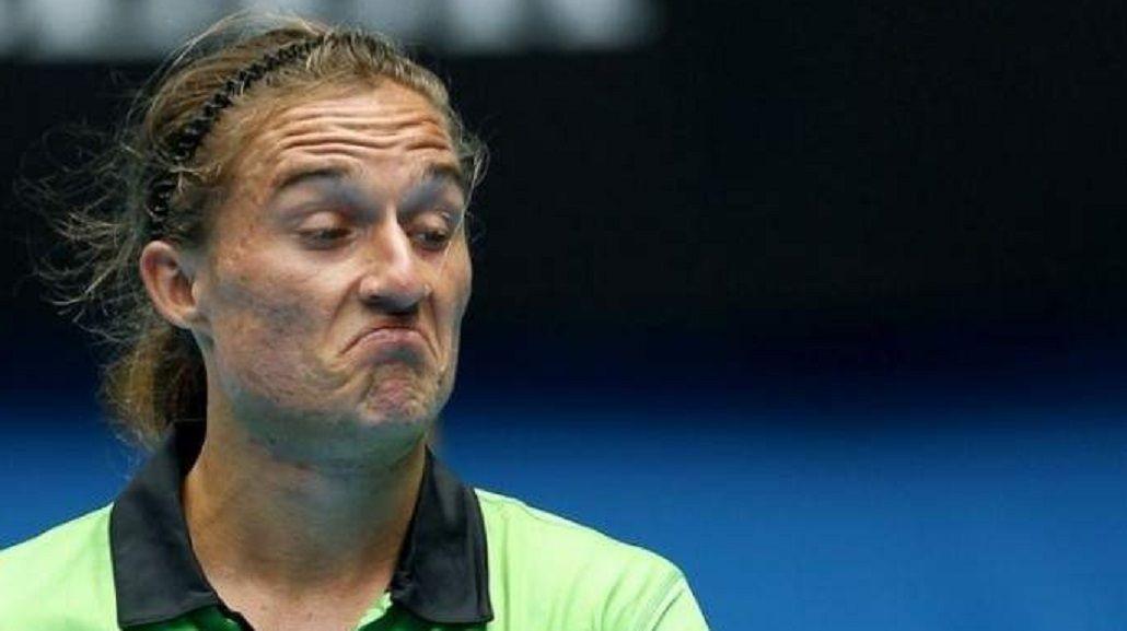 La escalofriante herida de un tenista al arrancar sus entrenamientos