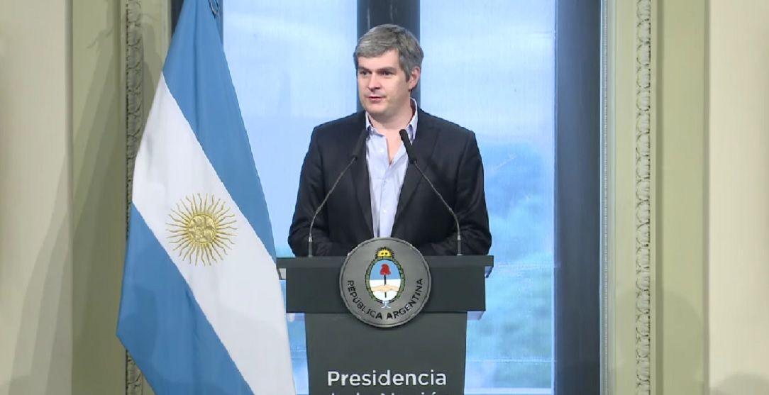 Peña anunció la salilda de Prat Gay del Gobierno