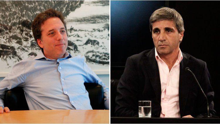 Nicolás Dujovne y Luis Caputo