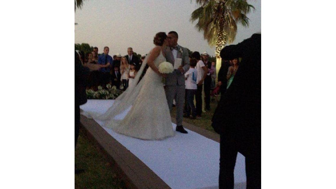 Carlos Tevez se casó