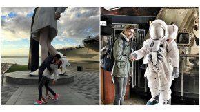 Las fotos del viaje de Eugenia Tobal con su nuevo novio