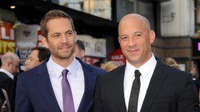 Vin Diesel homenajeó a Paul Walker