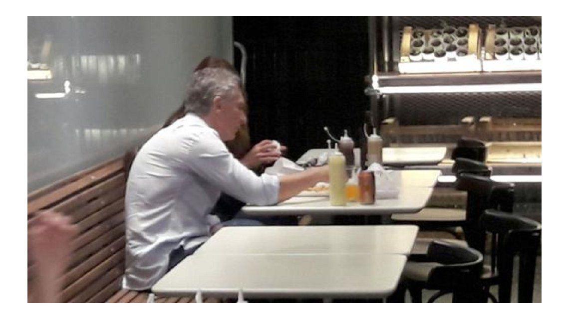 La imagen de Macri en Carne que circuló en las redes