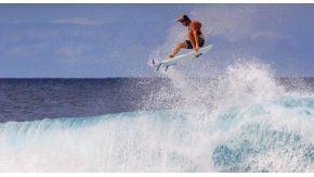 El marplatense Muñiz es la gran esperanza del surf argentino