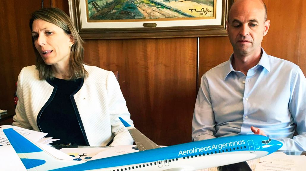 Dietrich reveló el motivo de la salida de Costantini de Aerolíneas