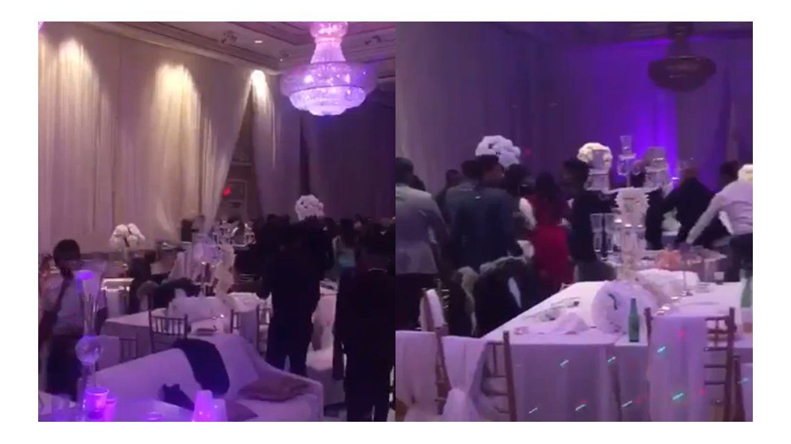 Pelea en una fiesta de casamiento