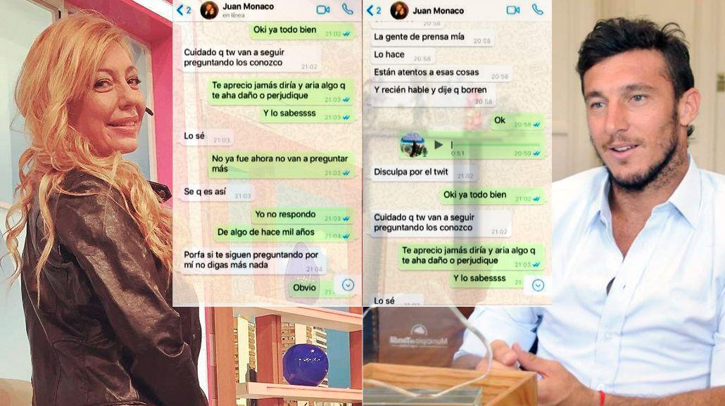 Pau Linda y Pico hablaron por WhatsApp