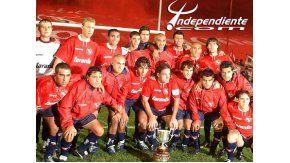 Pusineri, pieza clave en el Independiente campeón en 2002