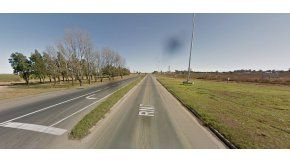 Ruta 7, donde se produjo el accidente