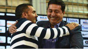 El presidente de Boca confía en el regreso del Apache