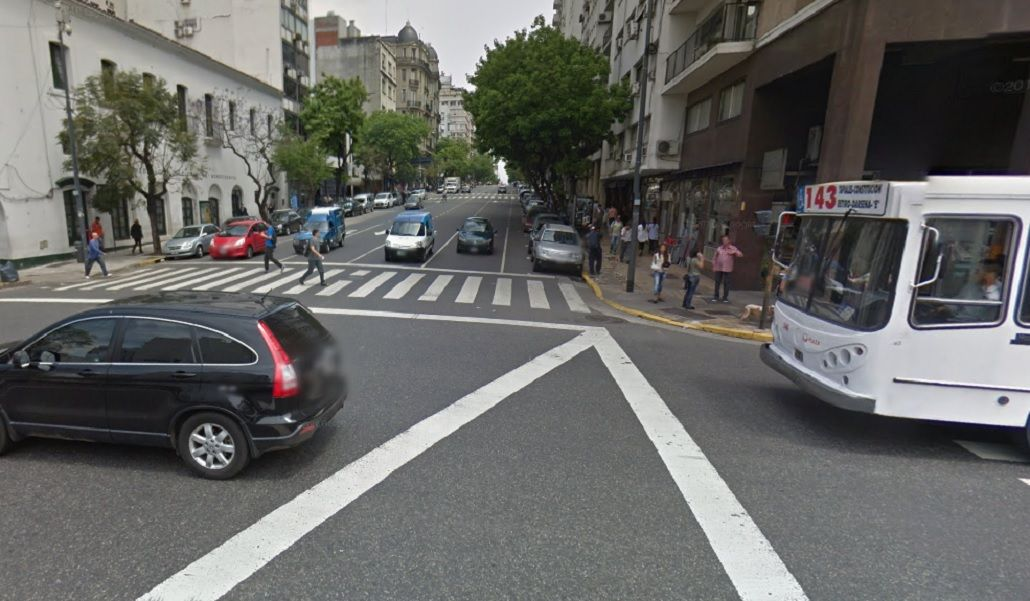 Belgrano y Paseo Colón