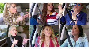 Así fue el Carpool Karaoke en Late Late Show