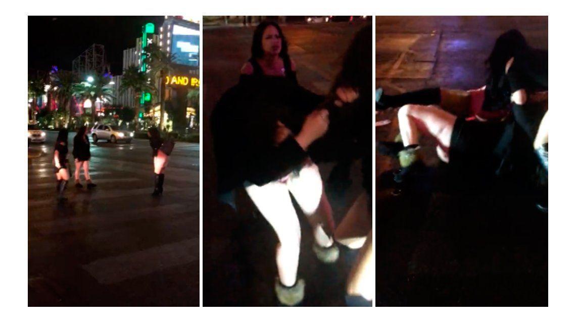 Pelea de strippers en Las Vegas