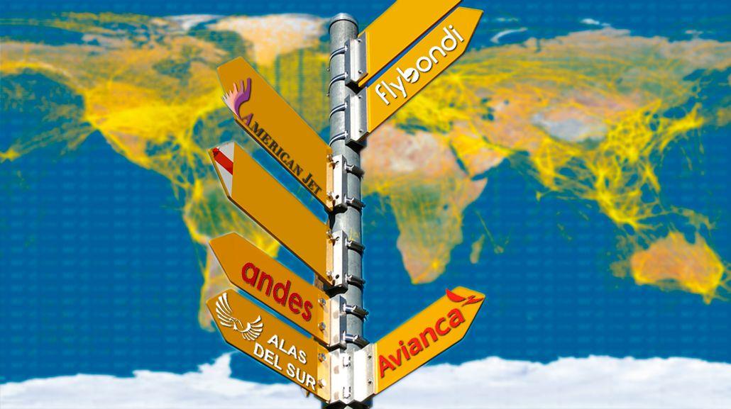 Las 5 low cost que buscan operar en el país: ¿cuáles son sus rutas?