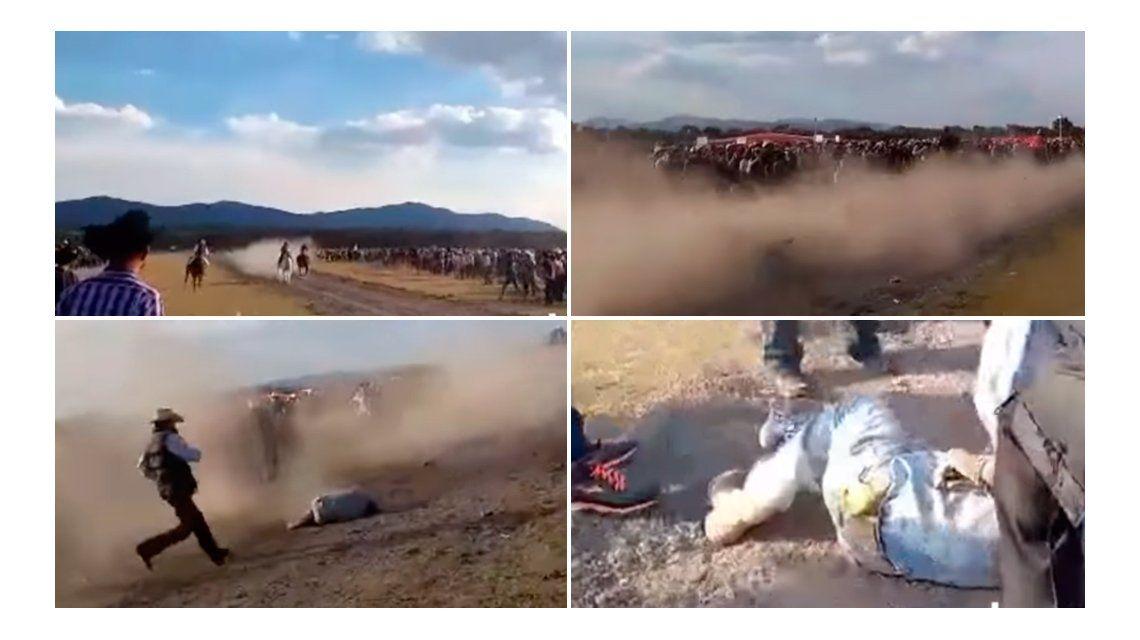 Un caballo mató a su dueño en plena carrera