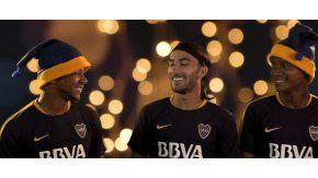 Los colombianos de Boca se divirtieron grabando el video