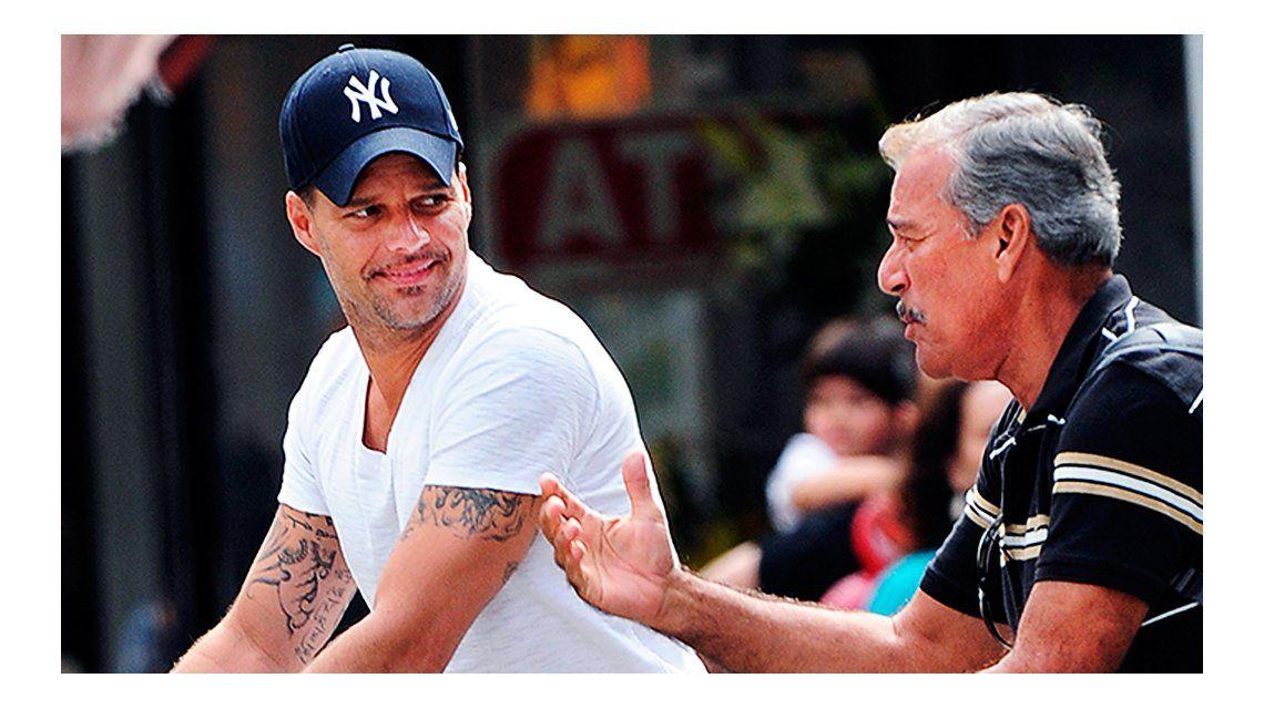 El mal momento de Ricky Martin por su padre