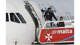 Secuestraron un avión en Malta con 118 personas a abordo