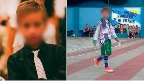 Brian, de 14 años, fue baleado por motochorros en Flores