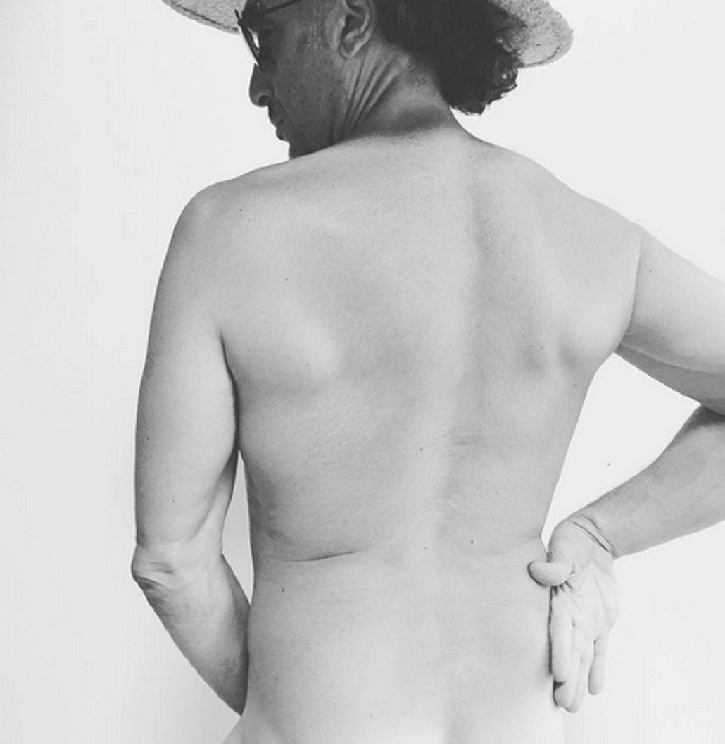 El desnudo de Favio Posca
