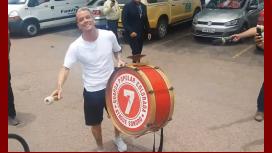 D´alessandro fue recibido por los hinchas del Inter