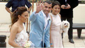 Entraron a robar en la casa de Tevez mientras se casaba en Uruguay