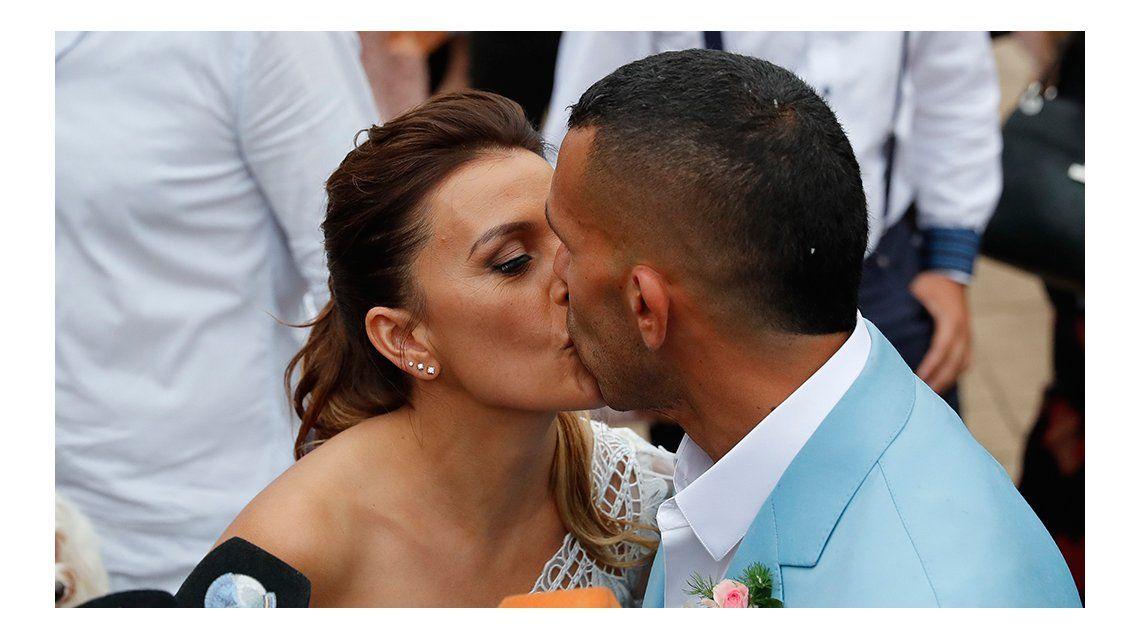 Carlos Tevez y Vanesa Mansilla se casaron
