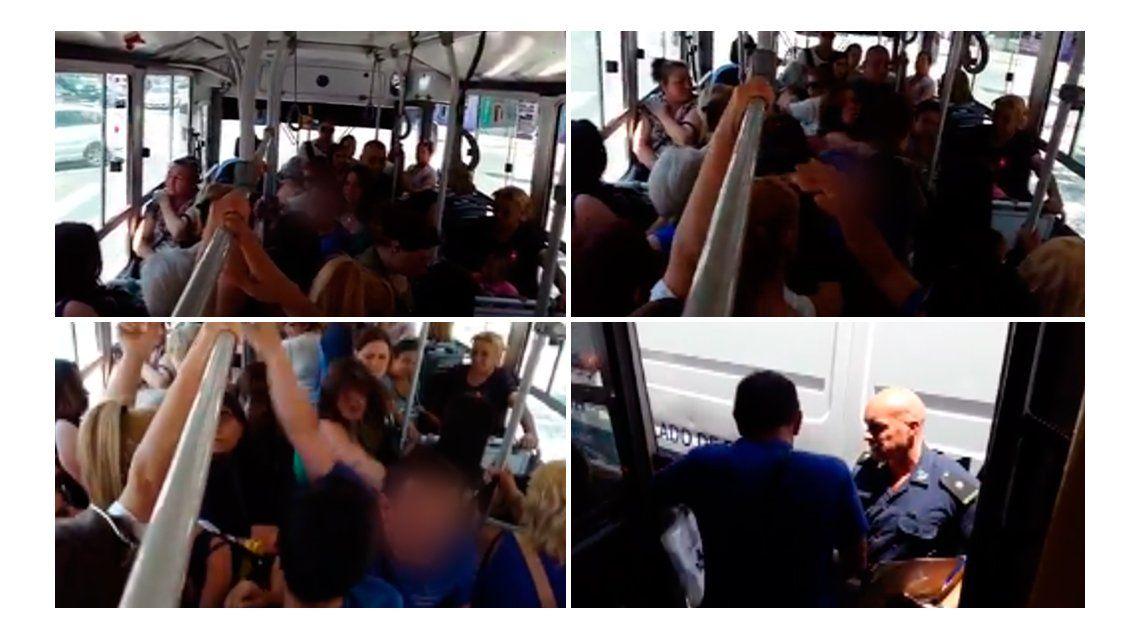 Una mujer denuncia que un hombre la tocó en el colectivo: mirá el video