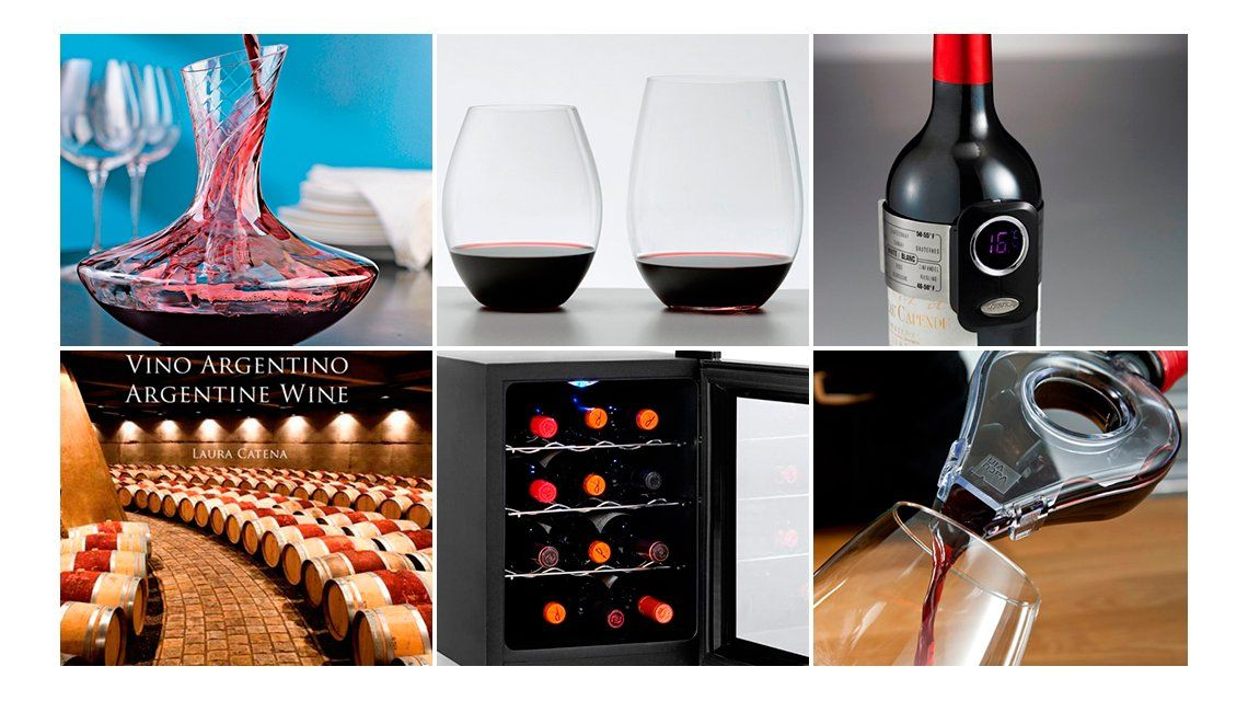 Diez regalos de Navidad para amantes de los vinos